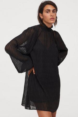 Robe plissée