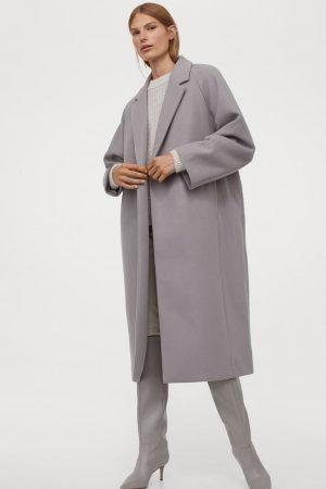 Manteau de longueur mi-mollet