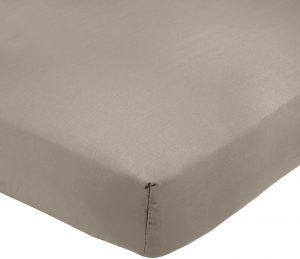 Amazon Basics AB 200TC Poly Cotton, mélangé, Gris, 140 x 200 x 30 cm